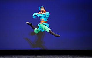 組圖二:第九屆中國古典舞初賽青年男子組風采