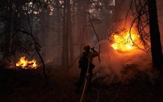 迪克西山火延燒近90萬英畝 拉森縣擴大撤離令