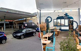 應對疫情限制 廢棄加油站10週變路邊美食餐廳