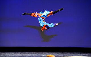 組圖二:第九屆中國古典舞複賽青年男子組風采