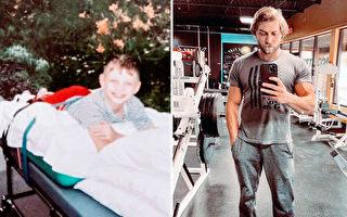 兩歲患腦癱 男子靠毅力成為健身教練