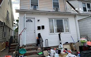 紐約華人夫婦爬屋頂逃生 二樓鄰居破窗相救