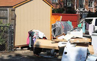 接觸水災帶來的污水 紐約皇后區災民生病