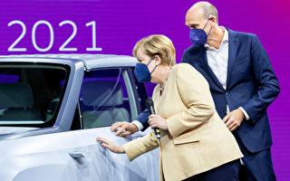 德國國際汽車展首次亮相慕尼黑 默克爾出席