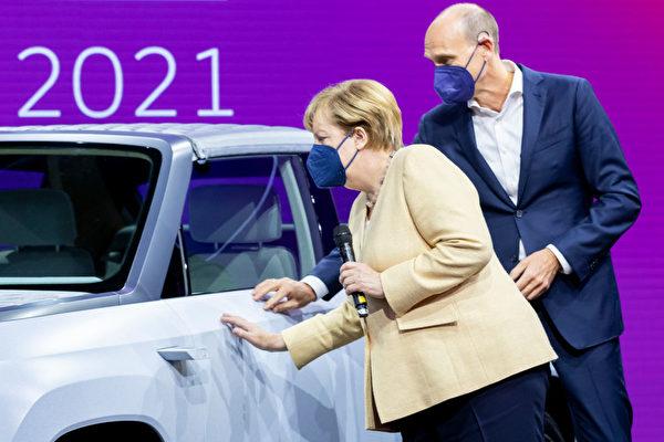 德国国际汽车展首次亮相慕尼黑 默克尔出席