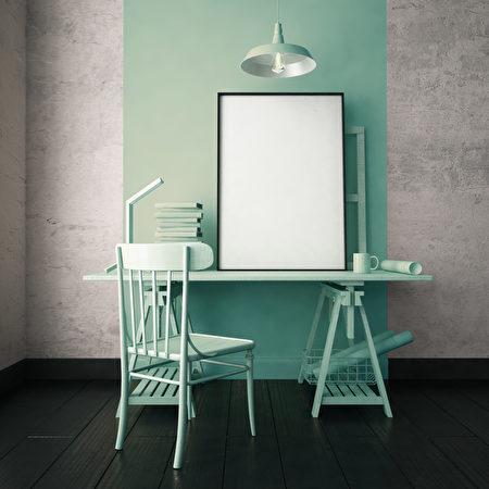 3d,Illustration,Interior.,Mockup,In,Hipster,Style,Workspace.,Trend,Color.,拱門