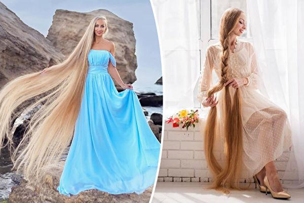 現實版長髮公主堅持留髮31年 髮長近兩米