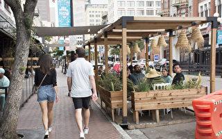 聖地亞哥檢查臨時戶外餐飲區 違規或被罰
