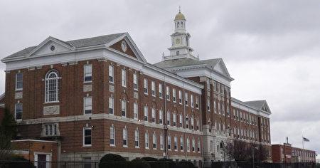美国高中示意图。