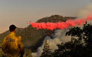 北加州两大山火控制率达65% 当局仍不敢大意