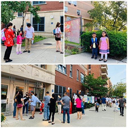 9月13日,纽约公校开学,学生们开始回到学校上课。