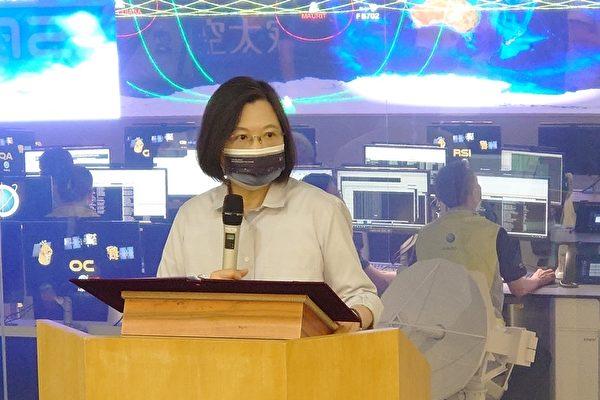 蔡英文:联合产官学力量进军全球太空产业链