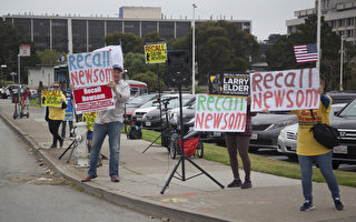 加州罢免州长特别选举 湾区投票踊跃