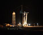 載四名平民遊太空 SpaceX龍飛船成功升空