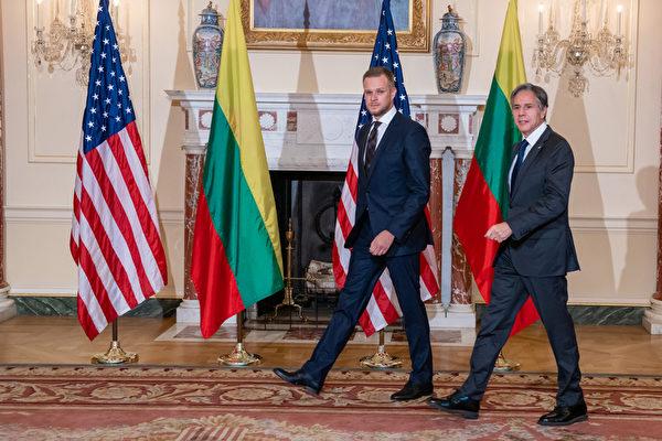 布林肯会晤立陶宛外长 共同对抗中共胁迫