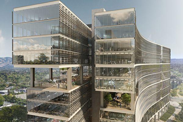 開發商積極在聖荷西市建造辦公園區
