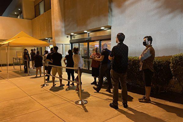 加州罢免州长选举 橙县投票过程记录