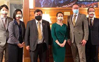 台湾驻美代表见立陶宛议员 分享对抗霸凌经验