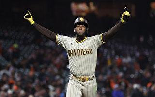 組圖:MLB聖地亞哥教士9:6勝舊金山巨人