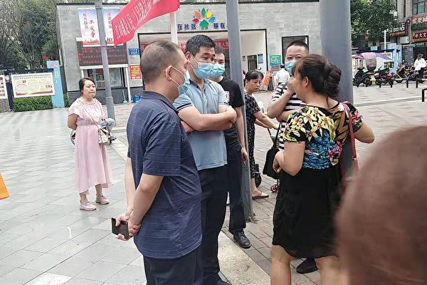 信访办局长接待日 重庆访民唐云淑被警方带走