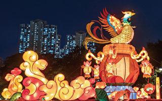 香港康文署今起于三区举办中秋彩灯会