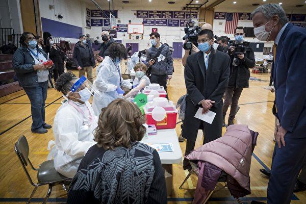 紐約市準備好施打COVID-19疫苗加強針