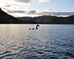大陸女子藉網路攝影機 目擊英國尼斯湖水怪