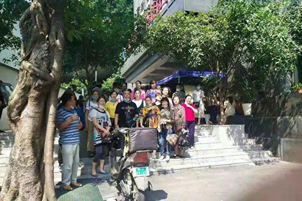 重慶訪民向中央督導組伸冤遭抓捕