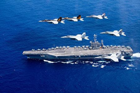 里根號航母打擊群重返印太司令部第七艦隊