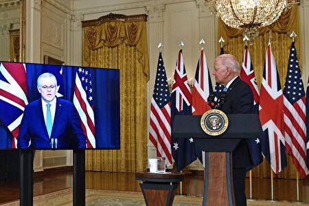 駁斥中共指責 澳總理:建核潛艇符合國家利益