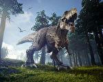 新发现:史前一种肉食恐龙比霸王龙大五倍