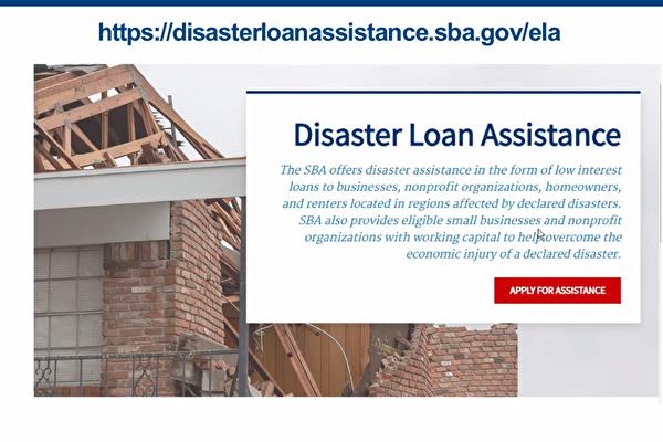 房東房客遭遇Ida水災財物損失 可申請SBA低息貸款