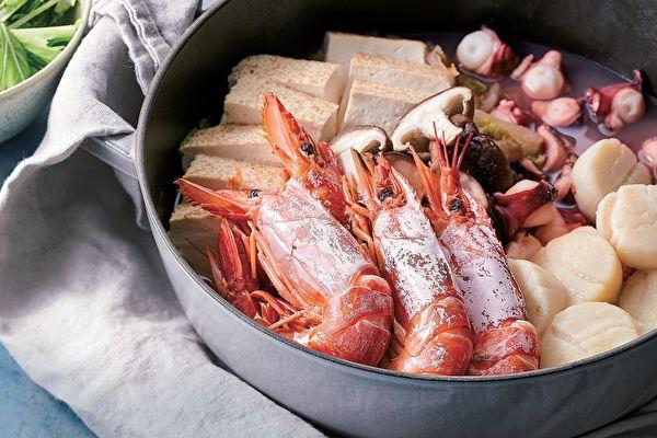 【缩时料理】海鲜蒸锅 简单食材尽享海味