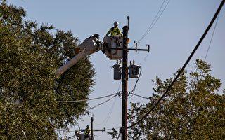 長期乾旱後的小雨 引發灣區數萬戶斷電