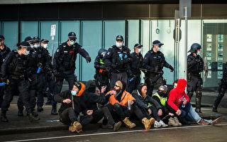 暴力抗議後 政府關閉墨爾本所有建築工地