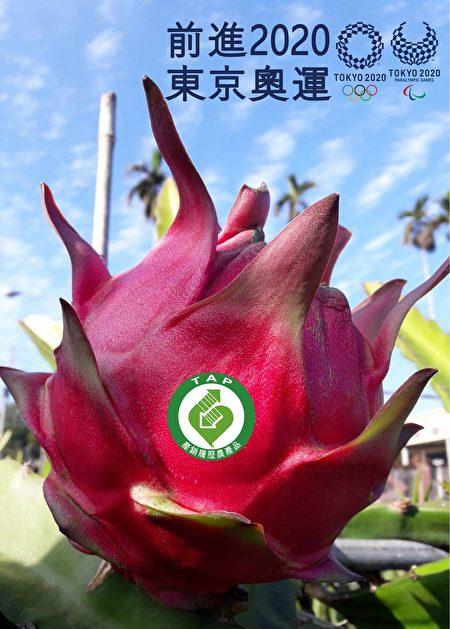 阿裕火龍果有生產履歷標章。