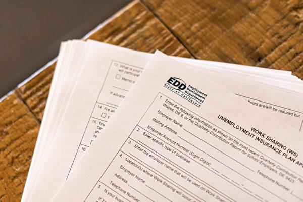 退休夫婦收到50多封EDD信件