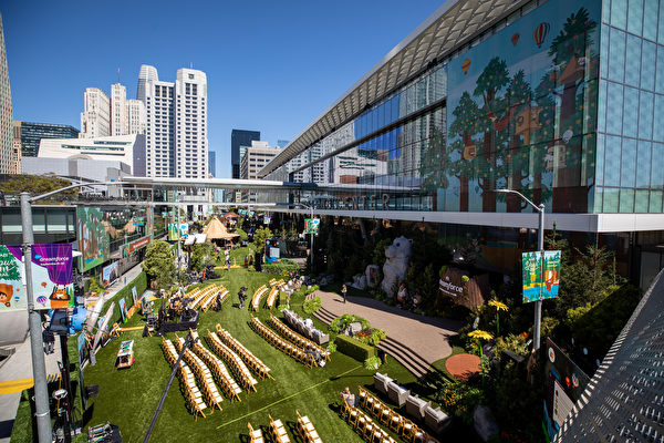 Dreamforce大會重返舊金山 商家:經濟復甦前兆