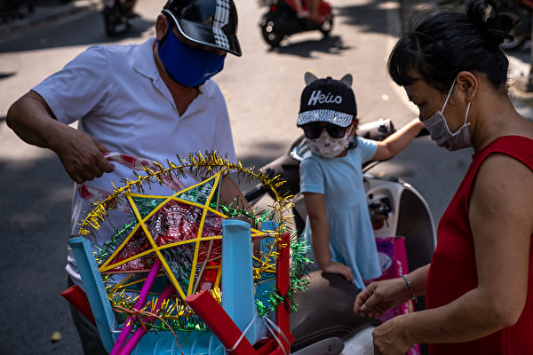 組圖:亞洲多國慶中秋 文化習俗各異