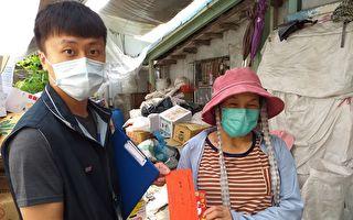 基市企业捐赠物质  保障资源回收业者
