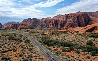组图:铁人70.3世锦赛 饱览犹他州自然风光
