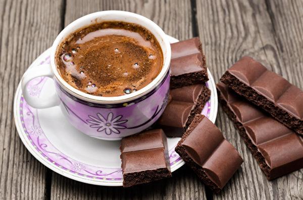 咖啡, 巧克力