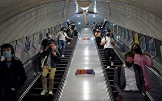 害怕用扶手 倫敦地鐵事故增加
