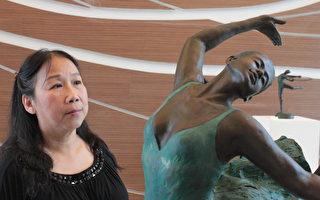 找回温馨的传统之美  铜雕艺术家洪琼华