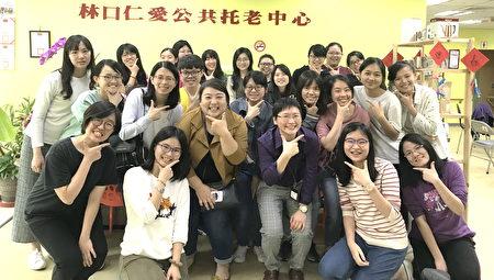 长庚大学职治系安排学生走入社区,开设12周全时临床实习的必修课。(照片是于2020年2月尚未有疫情时拍摄)