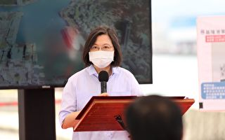 视察军港西迁工程 总统:基隆港是重要国门