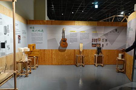 森林之嘉特展展场一隅。