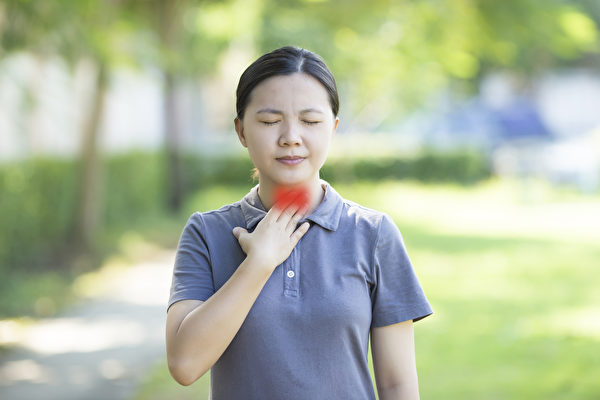 甲狀腺功能亢進或低下,都會造成各種不舒服。(Shutterstock)