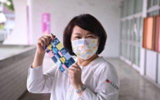 祝福幼教人員教師節快樂  黃敏惠贈幼教口罩