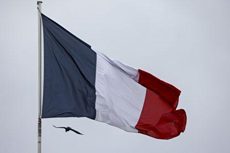 图为法国国旗。